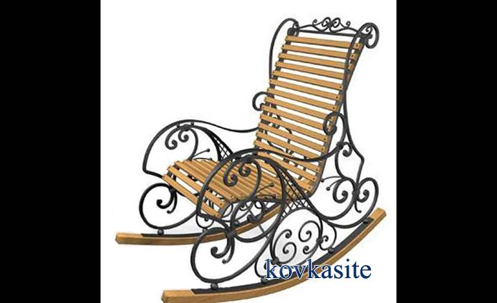 Кресло качалка из металла своими руками чертежи